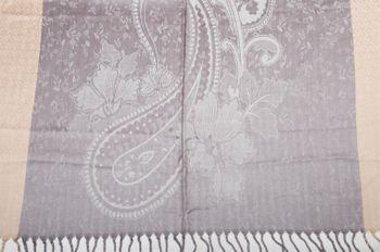 styleBREAKER edler Schal mit Blumen, Paisley, Ornament Muster und Fransen, Stola, Damen 01018095 – Bild 27