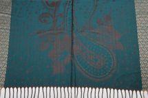 styleBREAKER edler Schal mit Blumen, Paisley, Ornament Muster und Fransen, Stola, Damen 01018095 – Bild 16