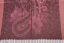 styleBREAKER edler Schal mit Blumen, Paisley, Ornament Muster und Fransen, Stola, Damen 01018095 – Bild 21