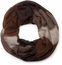 styleBREAKER tube scarf snood with striped colour gradient pattern, unisex 01018097 – Bild 4