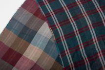 styleBREAKER mehrfarbiger Schal mit großem Karo Muster und Fransen, Unisex 01018098 – Bild 8