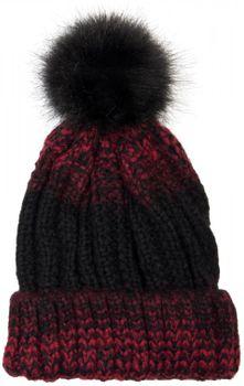 styleBREAKER Bommelmütze mit Feinstrick Zöpfchen Muster und Kunstfellbommel, Winter Strickmütze, Unisex 04024060 – Bild 4