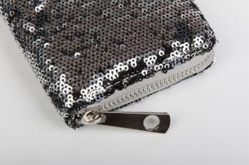 styleBREAKER purse all over sequins design, circumferential zipper, ladies 02040034 – Bild 9