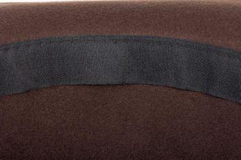 styleBREAKER melon hat, narrow brim felt hat with black ribbon, bowler hat, unisex 04025006 – Bild 14