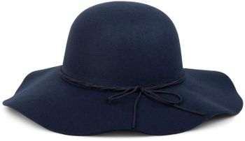 styleBREAKER Floppy Fedora felt hat with narrow ribbon and felt bow, hat, ladies 04025008 – Bild 4