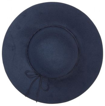 styleBREAKER Floppy Fedora felt hat with narrow ribbon and felt bow, hat, ladies 04025008 – Bild 10