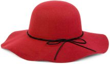 styleBREAKER Floppy Fedora felt hat with narrow ribbon and felt bow, hat, ladies 04025008 – Bild 19