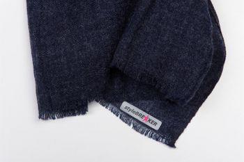 styleBREAKER unifarbener Schal in Jute Web-Optik mit kleinen Fransen, Unisex 01018092 – Bild 11