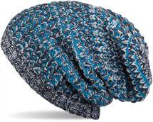 styleBREAKER warme Slouch Beanie Strickmütze in meliertem Design, Wintermütze, Unisex 04024062 – Bild 5