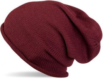 styleBREAKER warme Feinstrick Beanie Mütze in Unifarben, Strickmütze mit Rollrand, Wintermütze, Unisex 04024063 – Bild 4