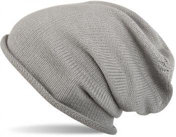 styleBREAKER warme Feinstrick Beanie Mütze in Unifarben, Strickmütze mit Rollrand, Wintermütze, Unisex 04024063 – Bild 2