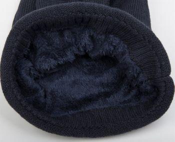 styleBREAKER warme Feinstrick Beanie Mütze mit sehr weichem Fleece Innenfutter, Unisex 04024065 – Bild 15