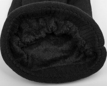 styleBREAKER warme Feinstrick Beanie Mütze mit sehr weichem Fleece Innenfutter, Unisex 04024065 – Bild 23