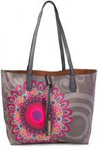 styleBREAKER Ethno Blumen Muster Handtaschen Set, Shopper Tasche und Umhängetasche, Damen 02012055 – Bild 11