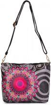 styleBREAKER Ethno Blumen Muster Handtaschen Set, Shopper Tasche und Umhängetasche, Damen 02012055 – Bild 6