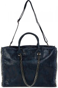 styleBREAKER vintage rock style shopper handbag with chain, sling bag, tote bag, bag, ladies 02012057 – Bild 14