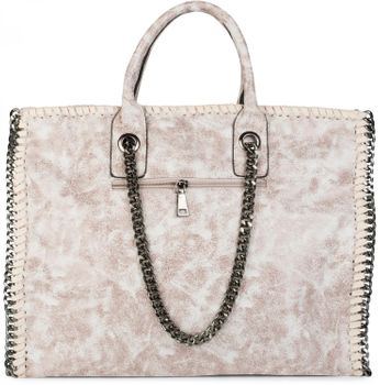 styleBREAKER vintage rock style shopper handbag with chain, sling bag, tote bag, bag, ladies 02012057 – Bild 30