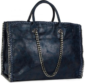 styleBREAKER vintage rock style shopper handbag with chain, sling bag, tote bag, bag, ladies 02012057 – Bild 36