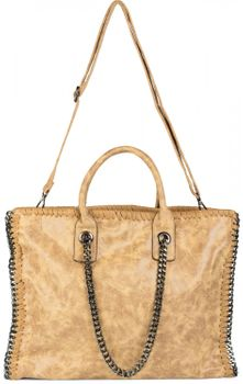 styleBREAKER vintage rock style shopper handbag with chain, sling bag, tote bag, bag, ladies 02012057 – Bild 9