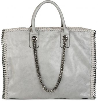 styleBREAKER vintage rock style shopper handbag with chain, sling bag, tote bag, bag, ladies 02012057 – Bild 22