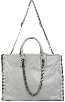 styleBREAKER vintage rock style shopper handbag with chain, sling bag, tote bag, bag, ladies 02012057 – Bild 24
