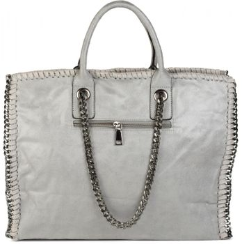 styleBREAKER vintage rock style shopper handbag with chain, sling bag, tote bag, bag, ladies 02012057 – Bild 25
