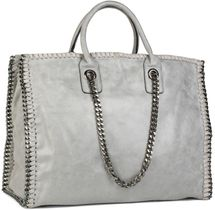 styleBREAKER vintage rock style shopper handbag with chain, sling bag, tote bag, bag, ladies 02012057 – Bild 21