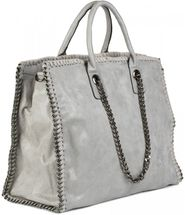 styleBREAKER vintage rock style shopper handbag with chain, sling bag, tote bag, bag, ladies 02012057 – Bild 23