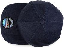 styleBREAKER Snapback Cap im Denim Style, Jeansstoff Optik, Baseball Cap, verstellbar, Unisex 04023041 – Bild 7