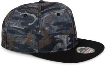 styleBREAKER Snapback Cap mit Camouflage Print, Baseball Cap, verstellbar, Unisex 04023045 – Bild 6