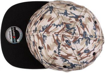 styleBREAKER Snapback Cap mit Camouflage Print, Baseball Cap, verstellbar, Unisex 04023045 – Bild 7