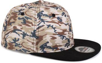 styleBREAKER Snapback Cap mit Camouflage Print, Baseball Cap, verstellbar, Unisex 04023045 – Bild 10