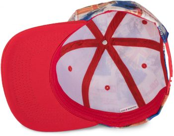 styleBREAKER snapback cap with city print, baseball cap, adjustable, unisex 04023046 – Bild 4