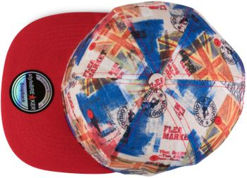styleBREAKER snapback cap with city print, baseball cap, adjustable, unisex 04023046 – Bild 2