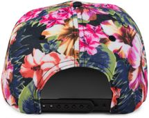 styleBREAKER snapback cap with flower print, baseball cap, adjustable, unisex 04023047 – Bild 3