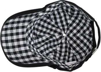 styleBREAKER vintage baseball cap, tartan and fur-lined inside, adjustable, unisex 04023048 – Bild 10