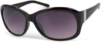 styleBREAKER butterfly-shaped sunglasses with metal embellishment on the legs, gradient lens, ladies 09020062 – Bild 4