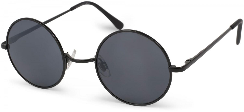 Sonnenbrille Damen Retro Stil Runde Sonnenbrille Sonnenbrille , Grau / Schwarz