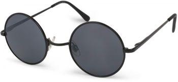 styleBREAKER runde Sonnenbrille mit schmalem Metall Gestell, Retro Design, Bügel mit Federscharnier, Unisex 09020065 – Bild 2