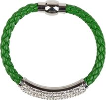 styleBREAKER braided bracelet with rhinestone and magnetic closure, ladies 05040047 – Bild 24