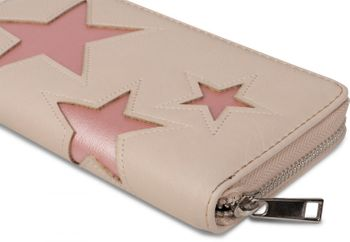 styleBREAKER purse with star cutout print of contrasting colour, circumferential zipper, women 02040037 – Bild 14