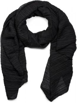styleBREAKER crêped scarf uni, crash and crinkle, cloth, women 01016107 – Bild 2