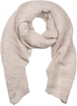styleBREAKER crêped scarf uni, crash and crinkle, cloth, women 01016107 – Bild 3