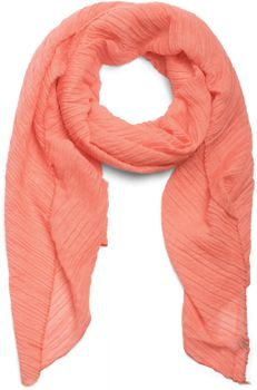 styleBREAKER crêped scarf uni, crash and crinkle, cloth, women 01016107 – Bild 8