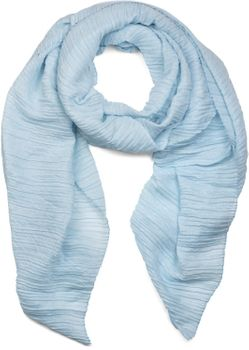 styleBREAKER crêped scarf uni, crash and crinkle, cloth, women 01016107 – Bild 6