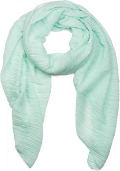 styleBREAKER crêped scarf uni, crash and crinkle, cloth, women 01016107 – Bild 7