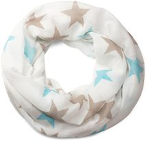 styleBREAKER colourful star pattern tube scarf, stars, cloth, scarf, women 01016109 – Bild 3