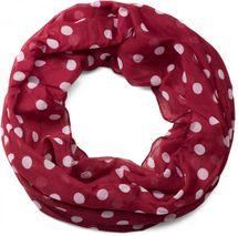 styleBREAKER Punkte Muster Loop Schlauchschal, seidig leicht, Tuch, Damen 01016111 – Bild 10