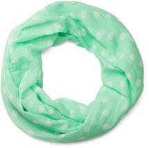 styleBREAKER Punkte Muster Loop Schlauchschal, seidig leicht, Tuch, Damen 01016111 – Bild 12