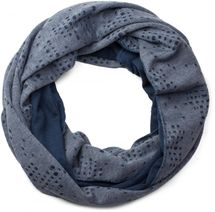 styleBREAKR destroyed vintage used look tube scarf, slightly perforated, unisex 01016114 – Bild 3